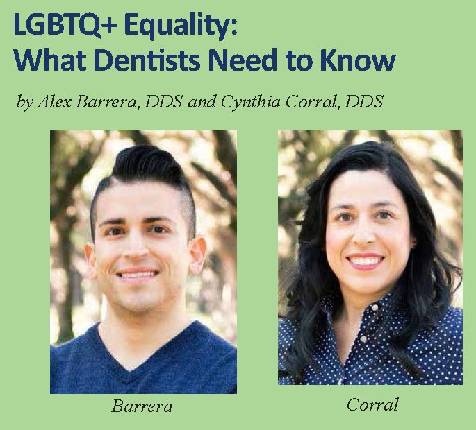 Drs. Alex Barrera and Cynthia Corral, both UTSD alumni, tell their stories in the Journal of the Greater Houston Dental Society.