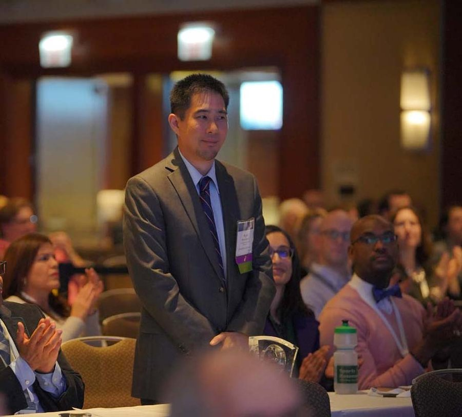 Dr  Quock in national spotlight as new chair-elect of ADEA