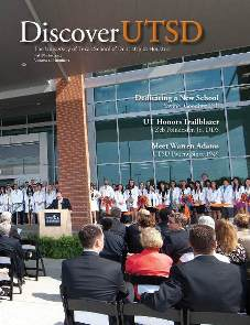 Cover of Discover UTSD magazine