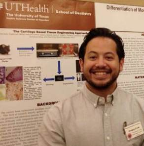 First-year dental student Gregory Luk was one of five UTSD students who presented at the Hinman Student Research Symposium in Memphis, Tenn.