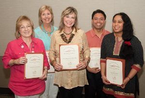 The Clinical Simulation Team won a Dean's Excellence Award for Innovation in Teaching.