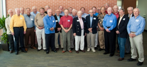 UT Dental Branch Class of 1963, in a photo taken April 5, 2013.