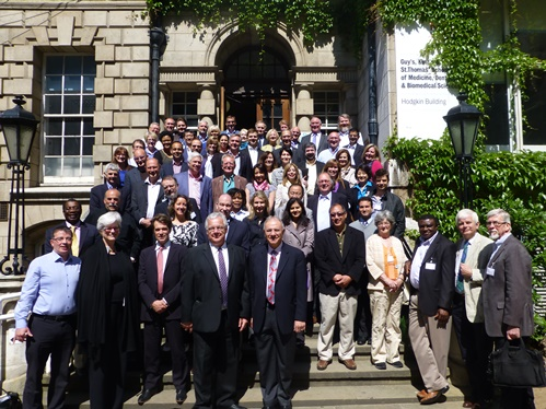 Dr. Ana Neumann (second row, fifth from left) attended the recent Global Collaboratory for Caries Management workshop in London.
