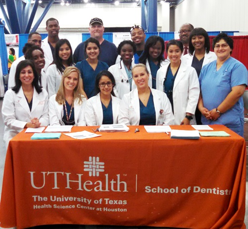 UTSD faculty, staff and students volunteered at the recent Black Expo in Houston.