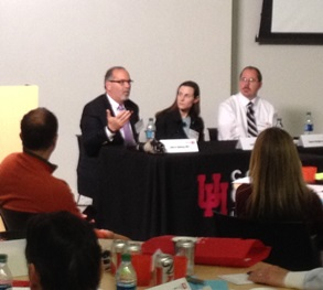 Dr. John Valenza was a guest panelist and speaker at the University of Houston's Ocular Surface Wellness Symposium.