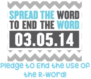 Drop the R-Word on March 5